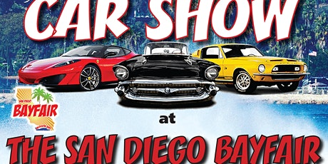 CAR SHOW  at The San Diego Bayfair - The World Series Of Power Boat Racing! tickets