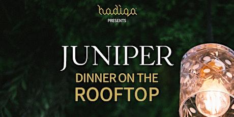 Juniper Estate | Dinner on the Rooftop Series tickets