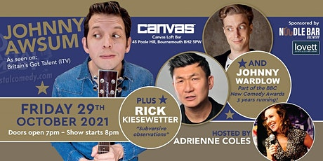 The Coastal Comedy Show with Jonny Awsum! tickets