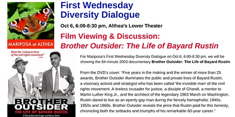 Mariposa's First Wednesday Diversity Dialogue tickets