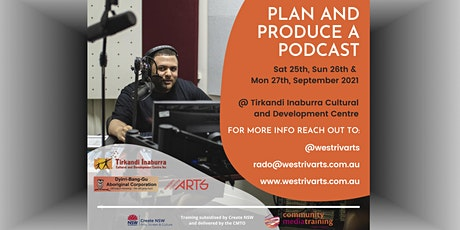 Plan and Produce a Podcast tickets