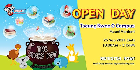 Box Hill - Open Day - The Story Pot @ Tseung Kwan O Campus tickets