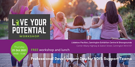 Live Your Potential Workshop Perth tickets