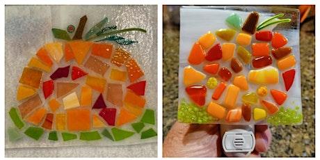 Glass Pumpkin Nightlight or Suncatcher Workshop - Walled Lake tickets