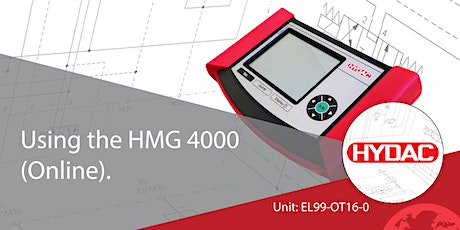 Using the HMG 4000 (Online) tickets