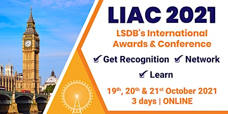 International Awards and Conference, LIAC 2021 tickets