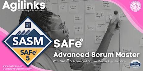 SAFe Advanced Scrum Master (Online/Zoom)Sept 23-24, Thu-Fri,California(PST) tickets