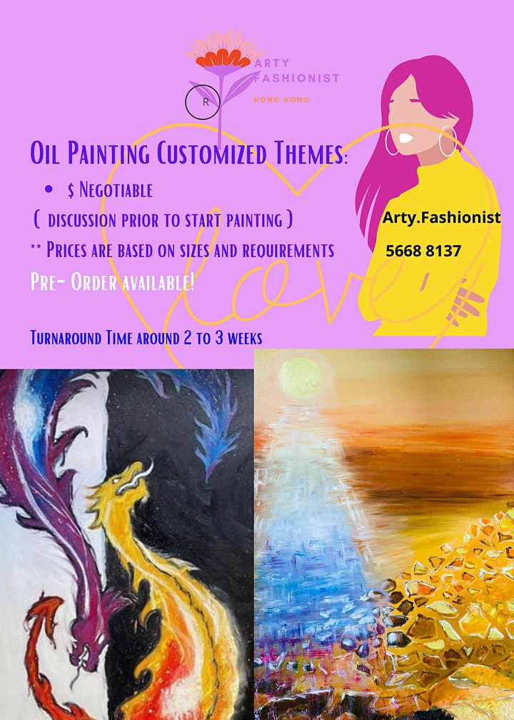 Customized Oil Paintings for Collection image