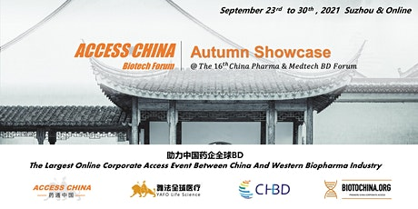 ACCESS CHINA Biotech Forum @ The 16th China Pharma & MedTech BD Forum tickets