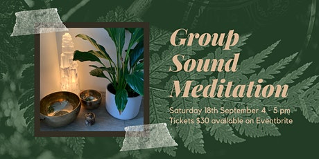 Group Sound Meditation - Deep Retreat tickets