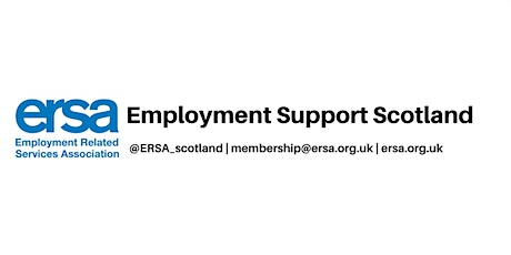 Employment Support Scotland - sponsored by entitledto tickets
