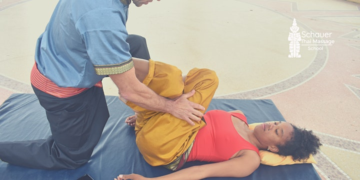 Thai Yoga Massage Stretching Techniken Kurs: Bild