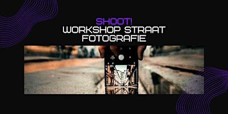 SHOOT!:  workshop straatfotografie.  Leer waanzinnige foto's maken (12-16j) tickets
