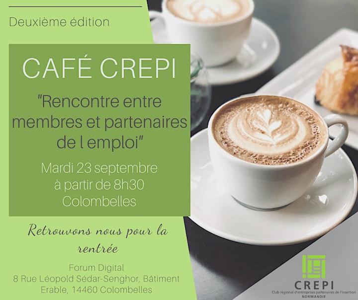 Image pour Café Crépi Membres et partenaires de l'emploi