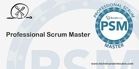 Scrum.org - Professional Scrum Master (PSM) billets