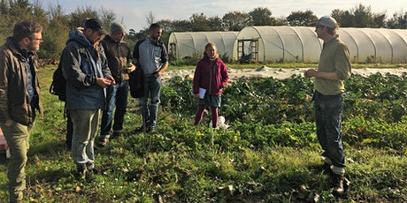 Organic Matters - grower visits tickets