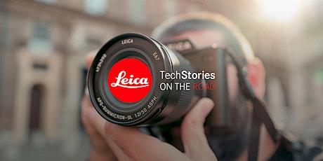 Leica TechStories ON THE ROAD - Leica Store Milano con il sistema Q biglietti