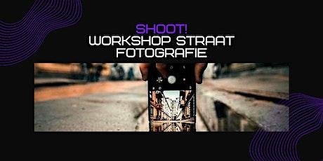 SHOOT!:  workshop straatfotografie.  Leer waanzinnige foto's maken (16-20j) tickets
