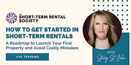 How to Get Started in Short-Term Rentals tickets