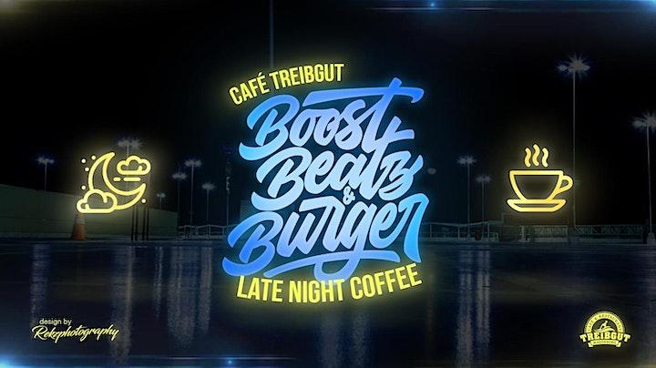Boost Beatz & Burger LATE NIGHT COFFEE START YOUR SESSION: Bild