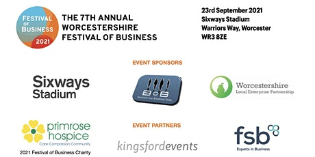 Worcestershire Festival of Business 2021 VISITOR TICKET tickets