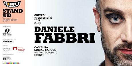 Daniele Fabbri | Stand UD biglietti