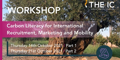 Carbon Literacy for International Recruitment, Marketing and Mobility tickets