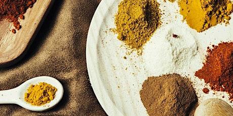 Cocina del mundo: currys entradas