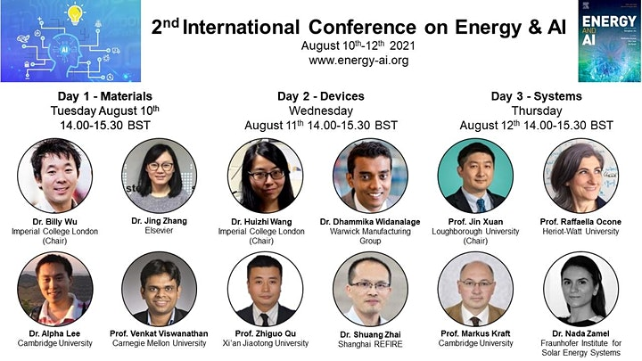 The 2nd  International Conference on Energy and AI image