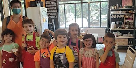 Cocina infantil: hamburguesas y refresco casero entradas