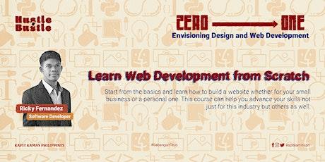 FREE WORKSHOP: Learn Web Development from Scratch tickets