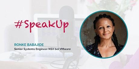 Women in Tech #SpeakUp mit Ronke Babajide tickets