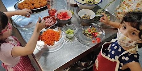 Cocina infantil: paellas y frutas de temporada entradas