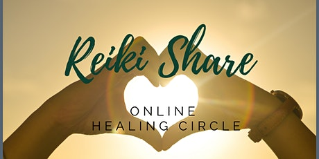 Online Reiki Share and self care healing circle tickets