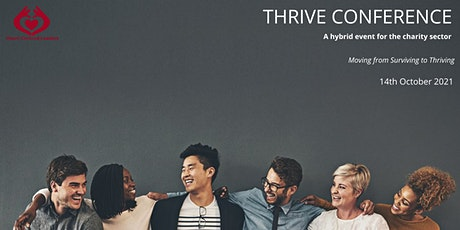 THRIVE Charity Conference : Wellbeing, Culture, Leadership & Fundraising tickets