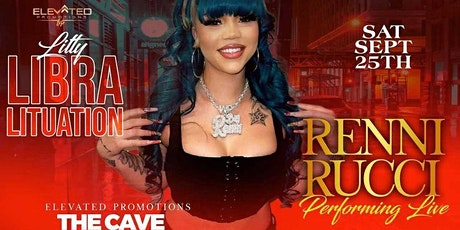RenniRucci performs live at The Cave Nightclub tickets