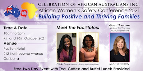AFRICAN WOMEN'S  SAFETY CONFERENCE 'BUILDING POSITIVE & THRIVING FAMILIES' tickets
