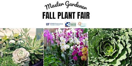 2021 Master Gardener Volunteer Fall Plant Fair tickets