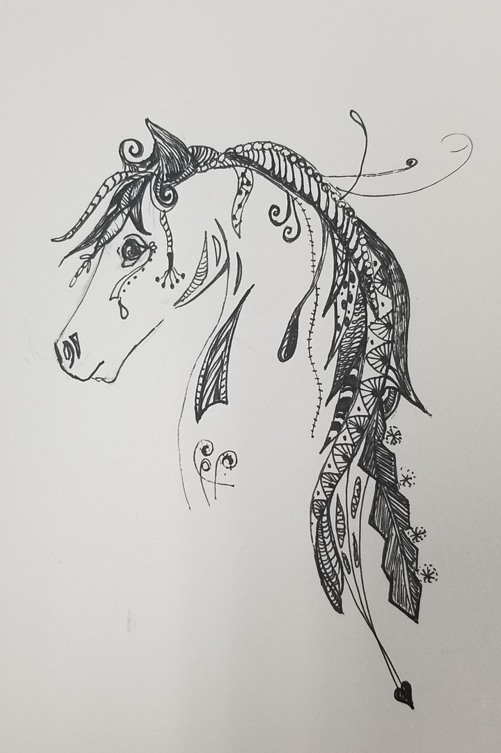 Artful Doodles Drawing Class image