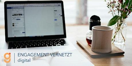 ENGAGEMENT VERNETZT - digital: Digitales Engagement für Sachsen-Anhalt tickets