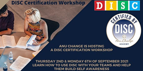 Personality Profiling Workshop - DISC Certification Training tickets