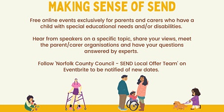 Making Sense of SEND - Tuesday 21st September 2021 tickets