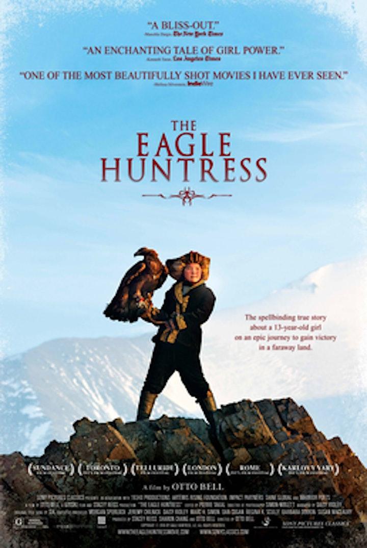Moffat 2021-Lauren McGough, Peter Robson, Julian Tite & The Eagle Huntress image