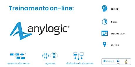 Treinamento on-line: AnyLogic - 04 a 07 de outubro de 2021 ingressos