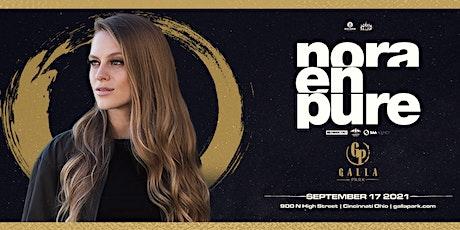 Nora En Pure / September 17 / Galla Park Cincinnati tickets