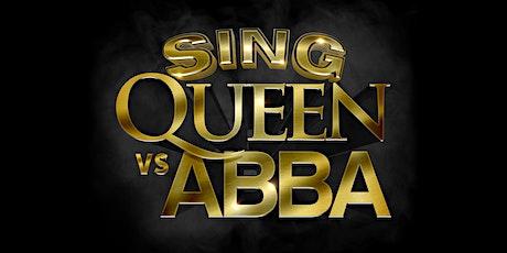 Sing Queen vs ABBA tickets