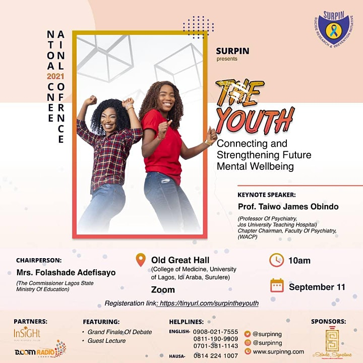 SURPIN 2021: The Youth - Connecting & Strengthening Future Mental Wellbeing image