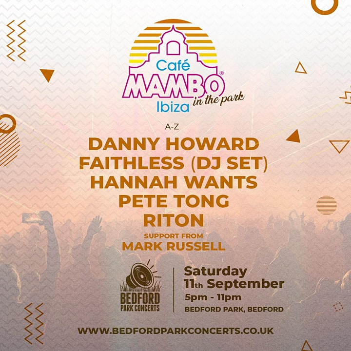 Cafe Mambo Ibiza 'In The Park' | Bedford image