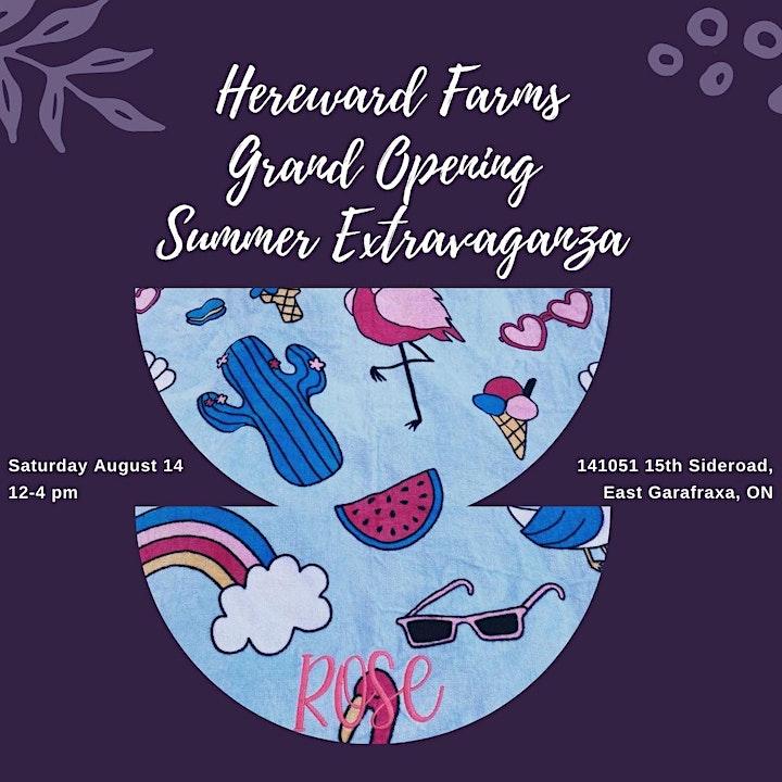 Hereward Farms Grand Opening Extravaganza image