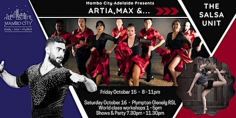 World Class Latin Workshops, Shows and Party with the World Salsa Champion tickets